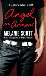 Book cover Angel in Armani by Melanie Scott
