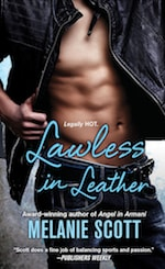 Book cover Lawless in Leather by Melanie Scott