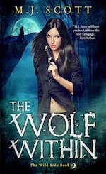 Book Cover The Wolf Within by M.J. Scott