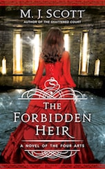 Book cover The Forbidden Heir by M.J. Scott