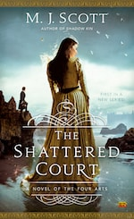Book Cover The Shattered Court by M.J. Scott