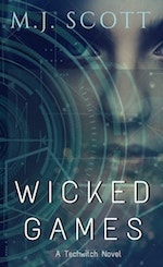 Book cover for Wicked Games by M.J. Scott