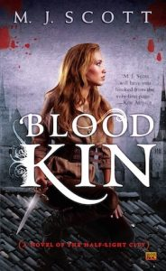 Book Cover Blood Kin by M.J. Scott