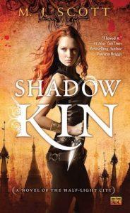 Book cover Shadow Kin by M.J. Scott