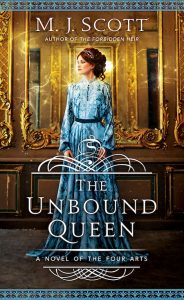 Book cover The Unbound Queen by M.J. Scott