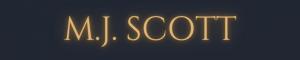 Header reads M.J. Scott in glowing gold letters